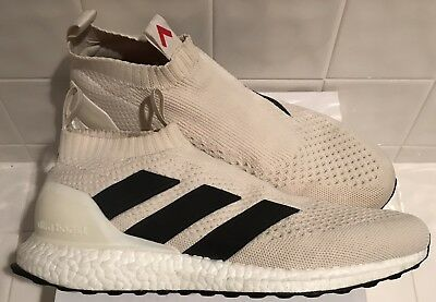 e5588e1bf Adidas Ace 16+ Purecontrol Ultra Boost Size 10 Champagne By9091 White Black  Red