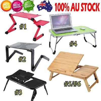 Foldable Laptop Table Sofa Bed Office Holder Stand Support Rack Writing Tray NEW