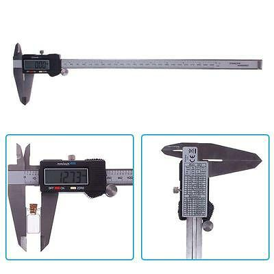 300MM 12inch Electronic Digital Vernier Caliper Gauge Micrometer Ruler Tool ◇EB✔