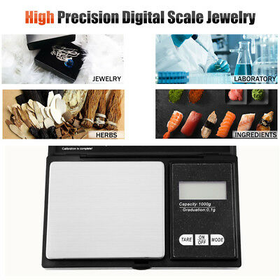 Mini Digital Pocket Scales Jewellery Precision Electronic Weight Lab Durable Au