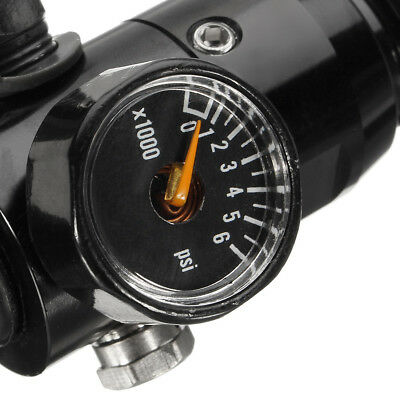 5/8 Inch 18UNF Thread Paintball Valve Regulator 4500psi HPA Air Tank Output