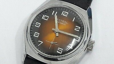 Astral - old vintage manual winding sub second watch , made in swiss , working