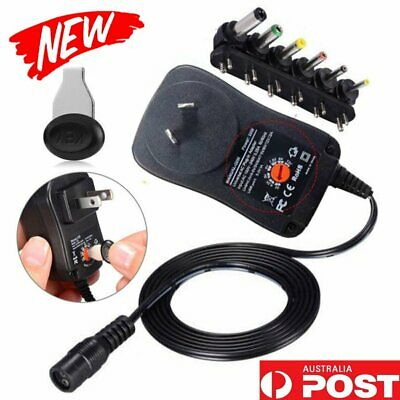 Universal Mains AC/DC Power Adaptor Supply Charger 3V 4.5V 5V 6V 7.5V 9V 12V 2A