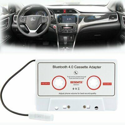 Audio Cassette Adapter Receiver for Cassette Deck W/ Bluetooth 4.0 For Android