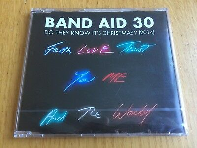 BAND AID 30 - Do They Know It's Christmas? 4-track CD single Brand New & Sealed