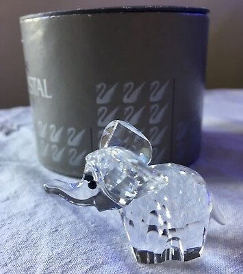 Swarovski crystal figurine - elephant mini