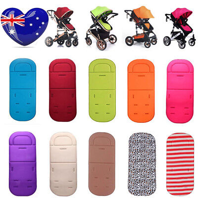 Washable Stroller Pushchair Car Seat Liner Padding Baby Toddler Pram Pad Cushoin
