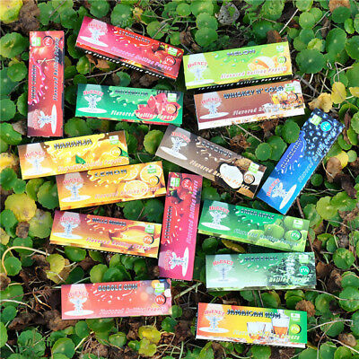 5x Hornet Juicy Fruit Flavored Cigarette Rolling Paper Smoking DIY 160 Leaves