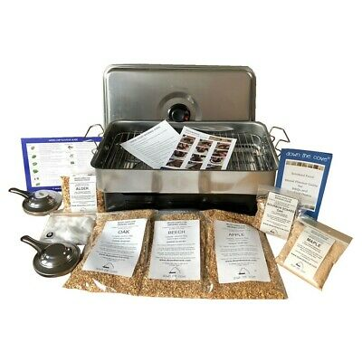 Complete Hot Smoking Kit - Smoked Food Oven, Woods - Ideal Gift - 24hr Delivery
