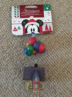 Disney Sketchbook Up Christmas Decoration New With Tag