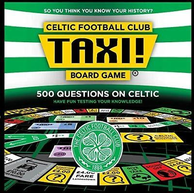 Celtic FC Edition Taxi Board Game