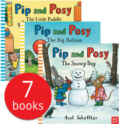 Pip and Posy Collection - 7 Books