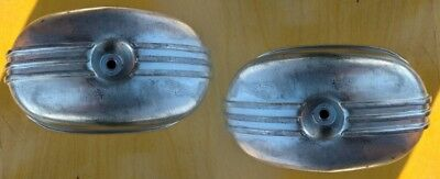 A pair of cylinder head covers the motorcycle Ural. new