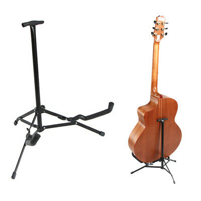 Musician's Gear Electric Acoustic and Bass Guitar Stand Black Tripod Stand US