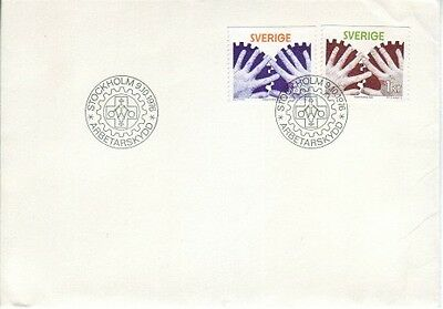 Sweden - Special Events, People & Anniversaries (5no. PO FDC's) 1975-77