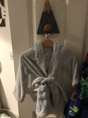White Company Dressing Gown Age 6-12 Months