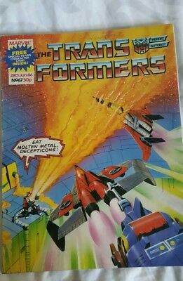 Marvel transformers comics uk issue 67