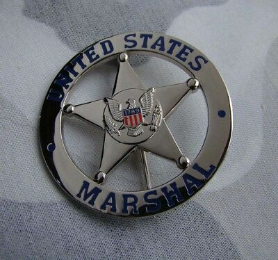 Collectibles silver color STAR COPPER US cosplay Badge