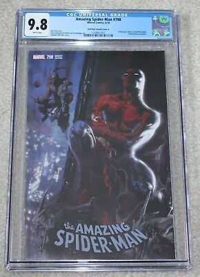 AMAZING SPIDER-MAN 798 CGC 9.8 DELL OTTO COMICXPOSURE VARIANT A 1st RED GOBLIN