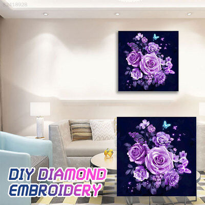 217A Modern Wall Decor Living Room Full Drill DIY Embroidery Needlework Home 5D