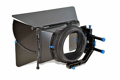 Professional Video Matte Box 2 for 15mm Rail  Spare Barn Door offered Below cost
