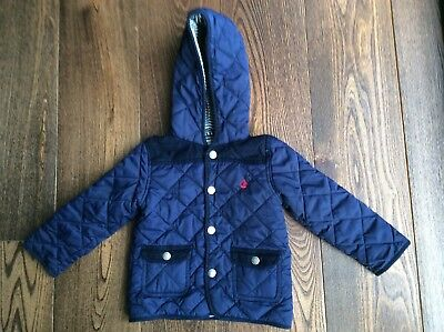 Boys Quilted Jacket 18-24 Months