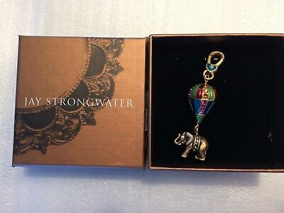 Jay Strongwater Charm Howie Elephant on Balloon SJ9196-250