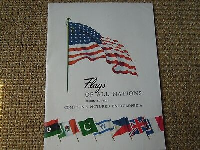 Flags Of All Nations, 1953,  F.E. Compton & Company