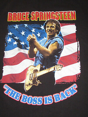 "Bruce Springsteen & the E Street Band ""The Boss is Back"" Tee Concert Tour XL"