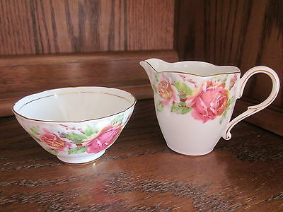 PARAGON Golden Emblem Cream and Sugar Bowl Set