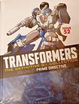 Transformers  Def.  G1 Collection = # 52 = Vol 25 = Prime Directives