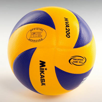 Mikasa FIVB MVA200 Volleyball Official Olympic Game Ball Dimpled Surface