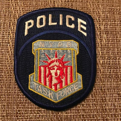 Task Force Special Unit NYPD New York City Police Patch