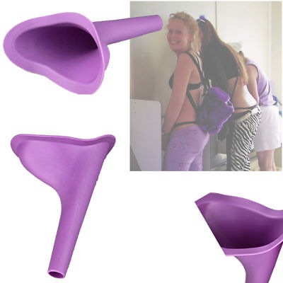 Hot Portable Camping Female She Urinal Funnel Ladies Woman Urine Wee Loo Travel@
