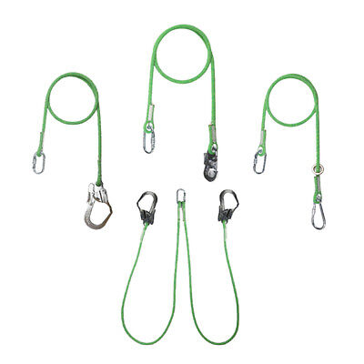 Heavy Duty Climbing/Aerial Work Safety Lanyard Fall Protection Rope with Hook