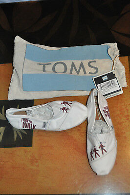 RARE BRAND NEW Hanson The Walk Toms Shoes Womens Size 5