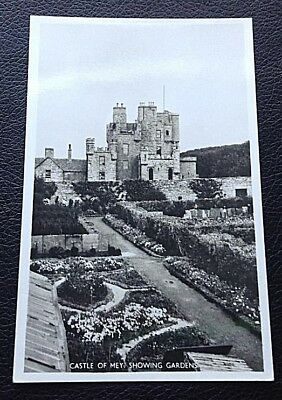 Postcard: Castle Of Mey Showing Gardens: Un Posted