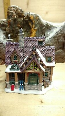 """Lemax Vail Village collection  """" Creek Side Cabin """""""