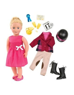 Our Generation Deluxe Lily Anna Doll with Book ONE SIZE Multi