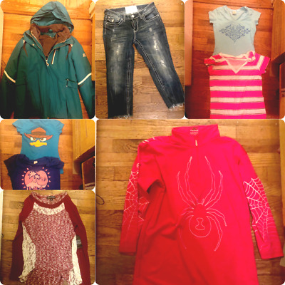 Teen Girls Fall Winter Clothes Jackets Lot 18 Items GREAT CONDITION