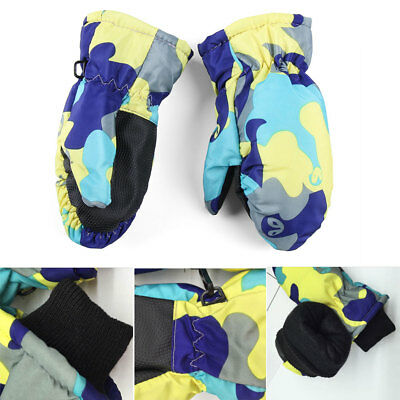 Winter Waterproof Baby  Warm Ski Glove Child Gloves Sports Glove  Mittens