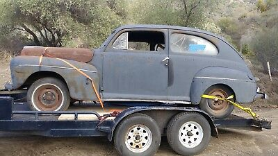 1946 Ford Coupe PICTURES IN DISCRIPTION 1946 FORD COUPE GREAT PROJET CAR, SOLID CAR