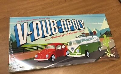 Volkswagen Monopoly V-DUB-OPOLY Classic VW Collectors Edition New in package