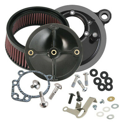 S&S Super Stock Stealth Luftfilter f. Harley - Davidson Twin Cam 99-06 S&S E/G