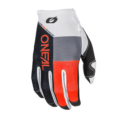 GUANTI O`NEAL MAYHEM GLOVE SPLIT BLACK/ORANGE taglia S/8 ADULTO ktm 0385-358 mx