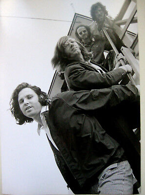 ORIGINAL Henry Diltz THE DOORS JIM MORRISON HOTEL Outtake Photograph 1968