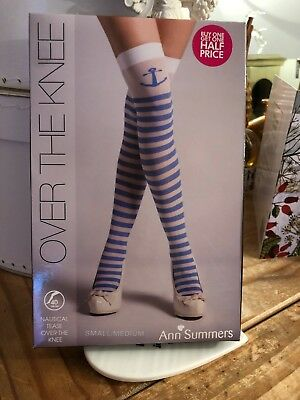Ann Summers - Over The Knee, Nautical Tease Small/Medium