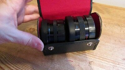 Vitacon video telephoto 2.0x high resolution lens and a 0.5x lens wide angle