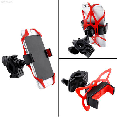 A83C Handlebar Mount Holder 360°Rotating 85mm For Cell Phone GPS Motorcycle