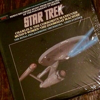The Royal Philharmonic Orchestra & Fred Steiner STAR TREK (From TV Series) LP